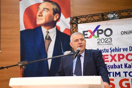 MAHÇİÇEK, EXPO 2023, ŞEHRİN TANITIM EKSİKLİĞİNİ GİDERECEK