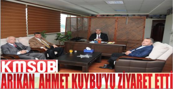 MAHMUT ARIKAN'NIN KMSOB ZİYARETİ