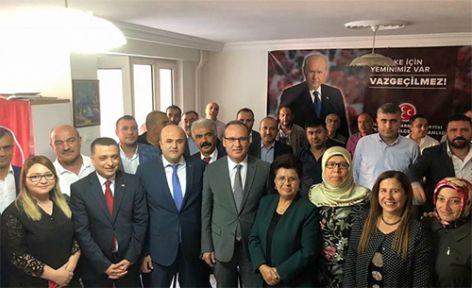 MHP ONİKİŞUBAT'A YENİ BAŞKAN