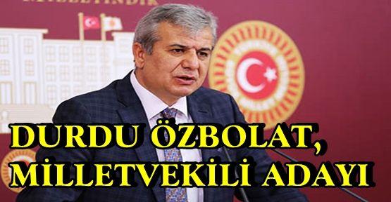 ÖZBOLAT CHP'DEN MARAŞ ADAYI