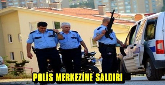POLİS MERKEZİNE BOMBALI SALDIRI