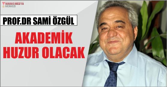 SAMİ ÖZGÜL '' YENİ TÜRKİYE YOLUNDA SORUMLULUK ÜSTLENMELİYİZ ''