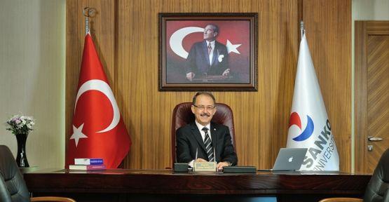 SANKO ÜNİVERSİTESİ'NİN YENİ REKTÖRÜ PROF. DR. GÜNER DAĞLI