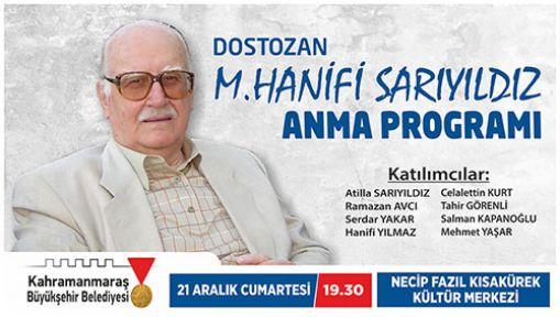 SARIYILDIZ'I ANMA PROGRAMI