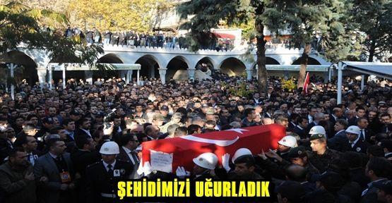 ŞEHİT POLİS ÇİFTASLAN SON YOLCULUĞUNA UĞURLANDI