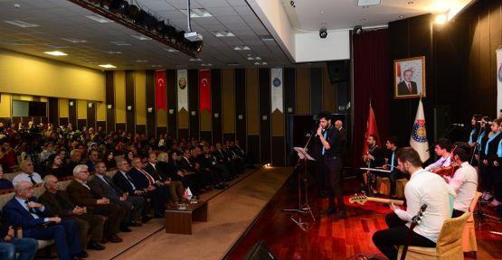 ÂŞIK MAHZUNİ ŞERİF ANISINA KONSER VERİLDİ