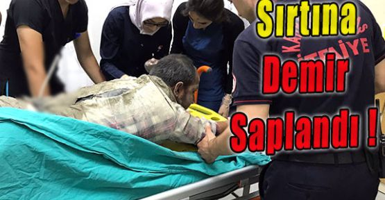 SIRTINA DEMİR SAPLANDI