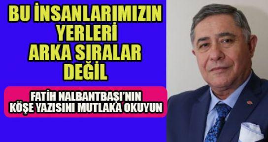 SİZLERİ KINIYORUM