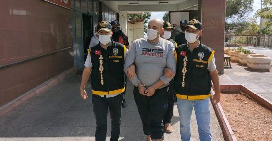 SUÇ MAKİNESİNİ KAHRAMANMARAŞ POLİSİ YAKALADI