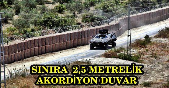 """SURİYE SINIRINA """"TÜRK SEDDİ"""""""