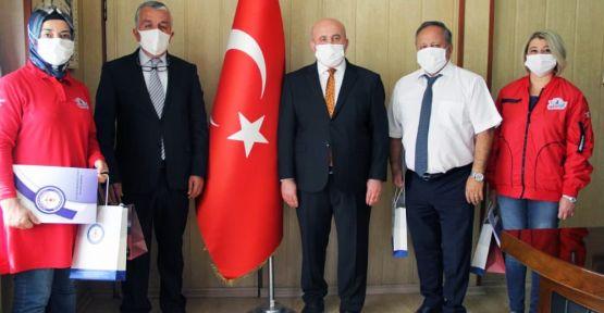 """""""TEKNOFEST MİMARLARI' ÖDÜLLENDİRİLDİ"""