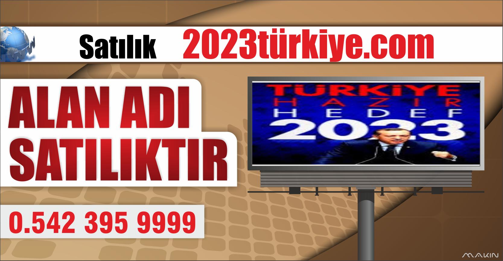 2023TÜRKİYE.COM SATILIK