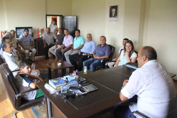 NERGİS VE MHP HEYETİNDEN CEYHAN'A DESTEK ZİYARETİ