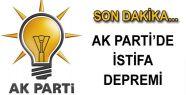 AK PARTİ İL BAŞKANI İSTİFASINI VERDİ...