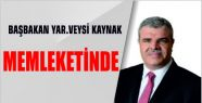 BAŞBAKAN YARDIMCISI VEYSİ KAYNAK'A MARAŞ'TA...