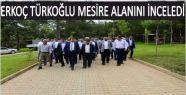 BAŞKAN ERKOÇ TÜRKOĞLU MESİRE ALANINI...