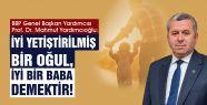 """""""BİZİM GELENEĞİMİZDE BABALAR, AİLENİN..."""