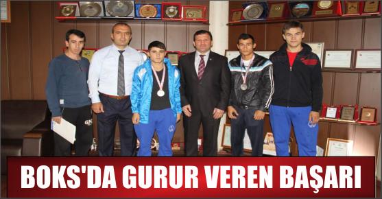 BOKS'TA GURURLANDIRAN BAŞARI