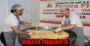 DOMATES PİŞMANİYESİ TANITILDI