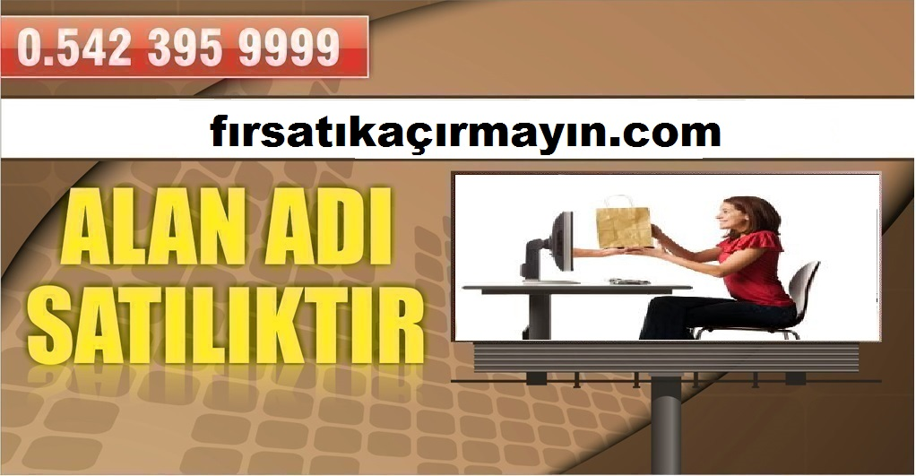 FIRSATI KAÇIRMAYIN SATILIK