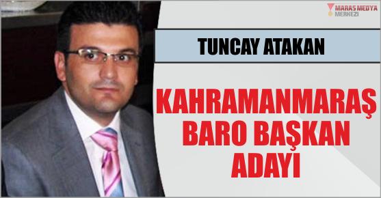 KAHRAMANMARAŞ BAROSU BAŞKAN ADAYI TUNCAY...