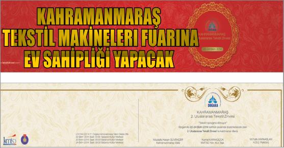 KAHRAMANMARAŞ'TA TEKSTİL MAKİNELERI...