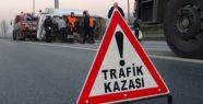 KAHRAMANMARAŞ'TA TRAFİK KAZASI 1 YARALI
