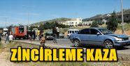KAHRAMANMARAŞ'TA ZİNCİRLEME TRAFİK KAZASI
