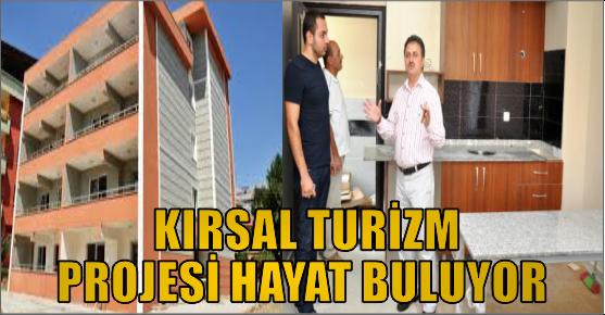 KIRSAL TURİZM PROJESİ TKDK İLE HAYATA...