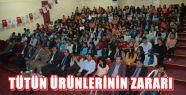 PAZARCIK'TA TÜTÜN ÜRÜNLERİNİN ZARARLARI...