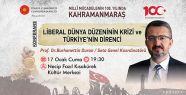 PROF. DR. BURHANETTİN DURAN'DAN KONFERANS...