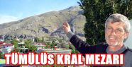 TÜMÜLÜS KRAL MEZARI İŞARETLERİNİ...