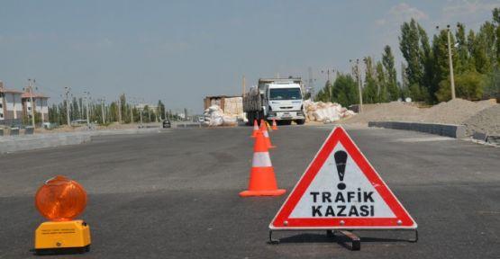 TRAFİK KAZASINDA 8 KİŞİ YARALANDI