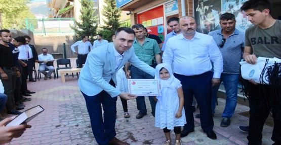 ÜLKÜ OCAKLARI'NDAN ÖRNEK DAVRANIŞ ÖDÜLLER SAHİPLERİNİ BULDU