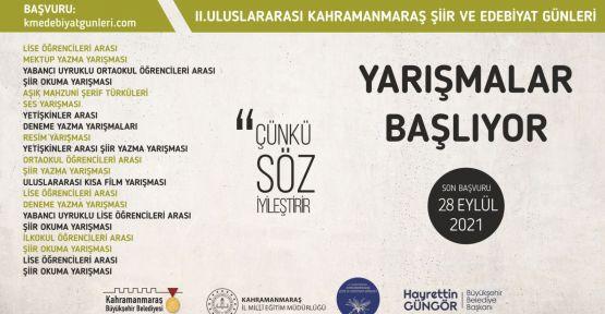 """""""ULUSLARARASI ŞİİR VE EDEBİYAT GÜNLERİ"""""""