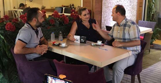 ÜNLÜ MODACI 46 TV'YE KONUK OLDU