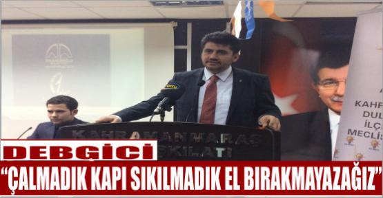 """""""YÜZDE 80'İN ÜZERİNDE OY HEDEFLİYORUZ"""""""