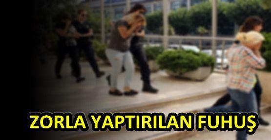 ZORLA FUHUŞ YAPTIRDI...